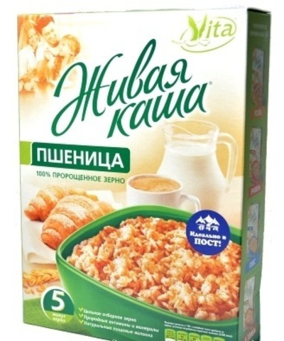Живая каша Пшеница 100%, 300 гр. (Алтайснэк)