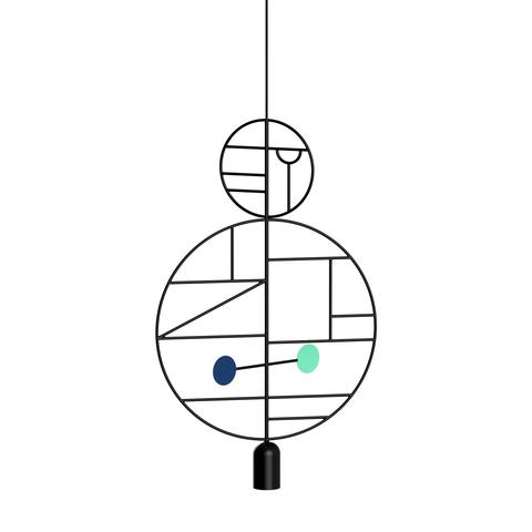 Подвесной светильник копия Lines & Dots LD09 by Home Adventures