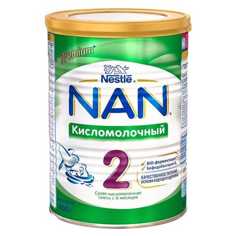 Смесь Nestle NAN 2 кисломолочный 400г с 6мес