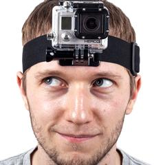 Крепление на голову для GoPro 3/3+ и GoPro 4