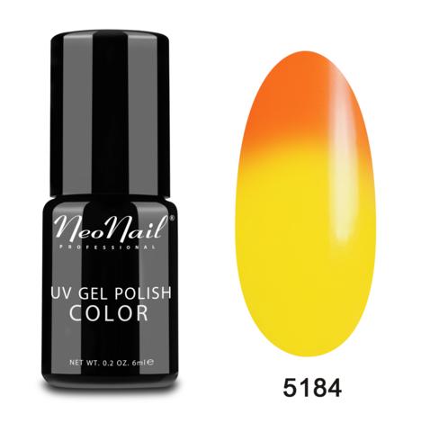 NeoNail Гель-лак UV 6ml Tequila Sunrise Термо №5184-1