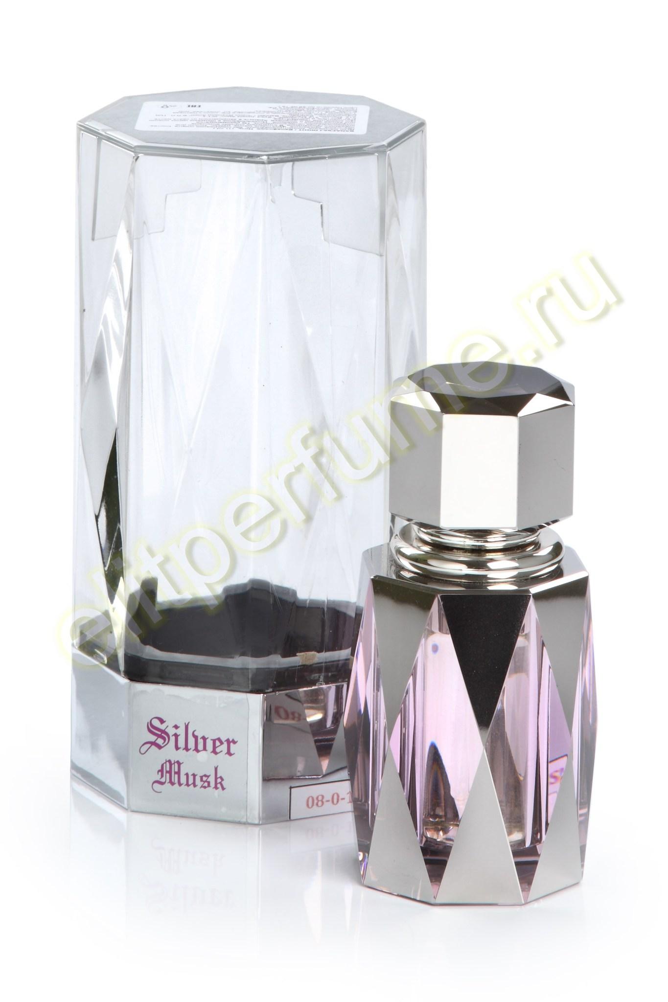 Silver Musk Серебряный Мускус 10 мл арабские масляные духи от Саид Джунаид Алам Syed Junaid Alam