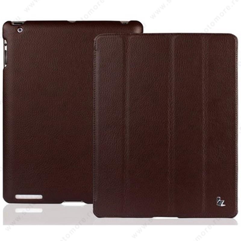Чехол-книжка Jisoncase для Apple iPad 4/ 3/ 2 JS-IPD-07I с логотипом коричневый SLE