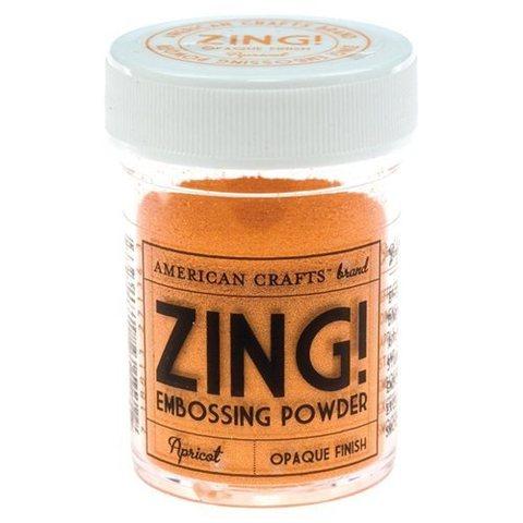 Пудра для эмбоссинга ZING! Metallic Apricot