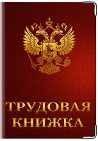 """Обложка для трудовой книжки """"Герб РФ"""" (1)"""