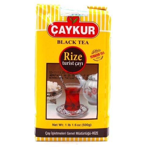 Турецкий черный чай Rize Turist, Çaykur, 500 г
