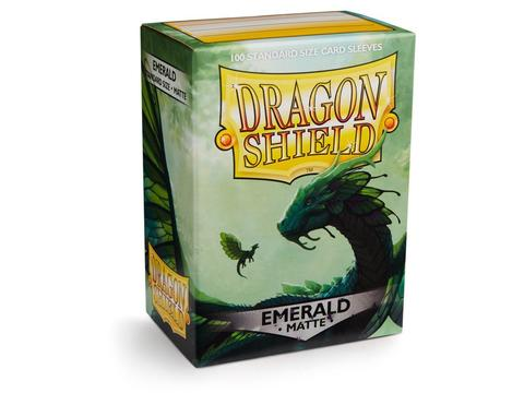 Протекторы Dragon Shield матовые Emerald (100 шт.)