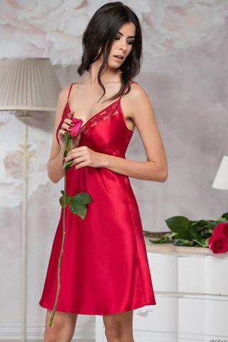 Сорочка Marisia 8581 красный Mia-Amore