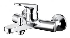 Смеситель для ванны с коротким изливом Bravat Eler F6191238CP-01-RUS