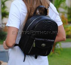 Рюкзак из кожи питона BG-317
