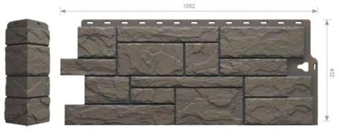 Фасадные панели Docke-R Slate Куршевель