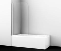 Шторка для ванны WasserKRAFT Leine 35P01-80 распашная