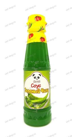 Вьетнамский зеленый соус чили Ями-Ями, 200 гр.