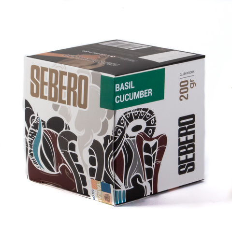 Табак Sebero Basil Cucumber (Базилик Огурец) 200 г