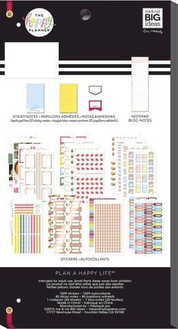 Блокнот со стикерами и стекерблоками Accessory Book - recipe - 1129 шт