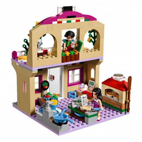 LEGO Friends: Пиццерия 41311 — Heartlake Pizzeria — Лего Френдз Друзья Подружки