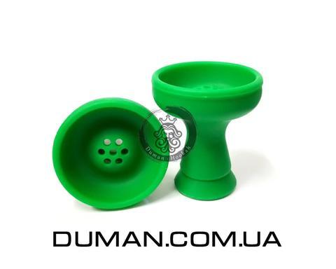 Силиконовая чаша Зеленая для кальяна
