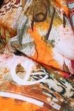 Платье для беременных 05583 оранжевый