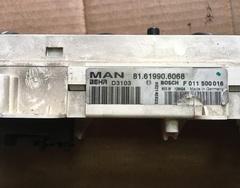 Блок управления отопителем MAN/МАН (с кондиционером)  Блок кондиционера МАН 81669126160