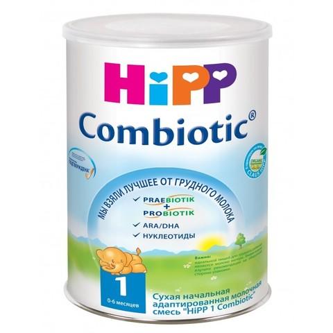 HIPP. Сухая адаптированная молочная смесь Combiotic с 0 мес., 800 г