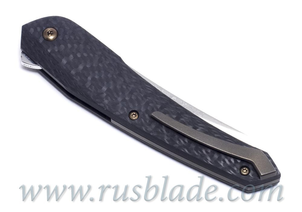 Cheburkov Cobra 2018 damascus new knife