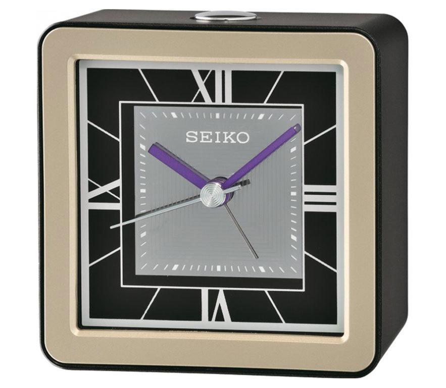 Настольные часы-будильник Seiko QHE098JN