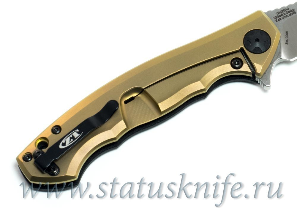 Нож Zero Tolerance ZT 0452 М390 G10 Bronze - фотография