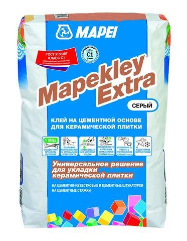 Mapei Mapekley Extra/Мапей Мапеклей Экстра клей на цементной основе для керамической плитки класса С1