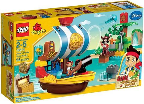 LEGO Duplo: Пиратский корабль Джейка 10514 — Jake's Pirate Ship Bucky — Лего Дупло