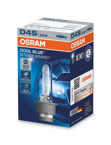 D4S Xenarc Cool Blue Intense Ксеноновая лампа OSRAM (артикул 66440CBI)