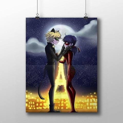 Плакат с Леди Баг и Супер Котом №4