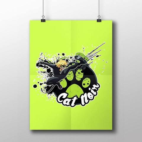 Плакат с Супер Котом №3