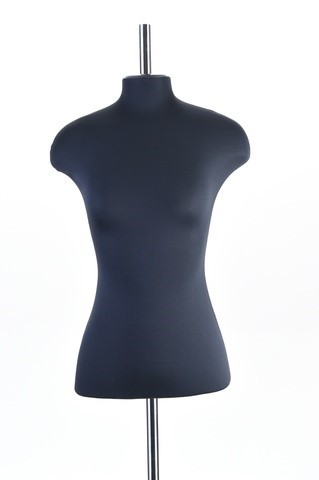 Манекен портновский женский 54 размер ОСТ (черный)
