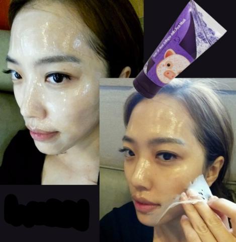 Маска-пленка с экстрактом ласточкиного гнезда и коллагеном Elizavecca Gold GF-Nest Collagen Jella Pack Mask