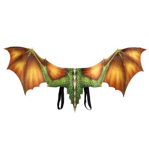 Дракон костюм крылья и маска