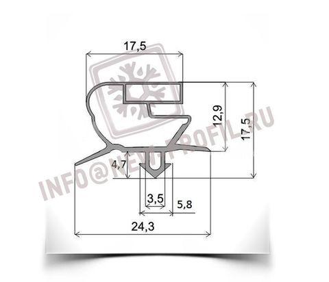 Уплотнитель для холодильного стола CORECO 585*385 мм по пазу(018 АНАЛОГ)