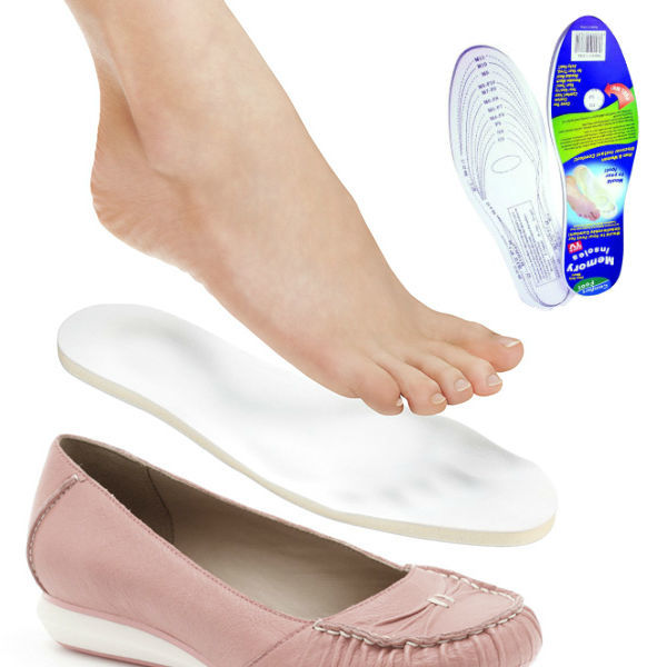 """Для здоровья Стельки для обуви с памятью """"Здоровая стопа"""" (Memory Foam Insoles) a6121631be49af4ebb4f5eddee6f2fce.jpg"""