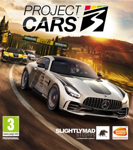 Плакат игровой Project Cars 3 (А1)