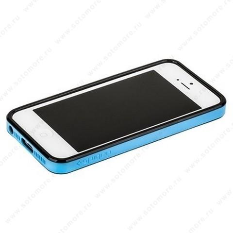Бампер SGP для iPhone SE/ 5s/ 5C/ 5 с резиновой прокладкой вид 14