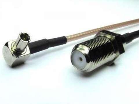 Антенный адаптер (пигтейл) F-female/TS9