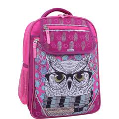 Рюкзак школьный Bagland Отличник 20 л. Малиновый 514 (0058070)