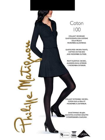 Колготки Coton 100 Philippe Matignon