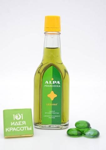 Alpa францовка Лесана 60мл - спиртовой травяной раствор (при ревматизме и простудах)