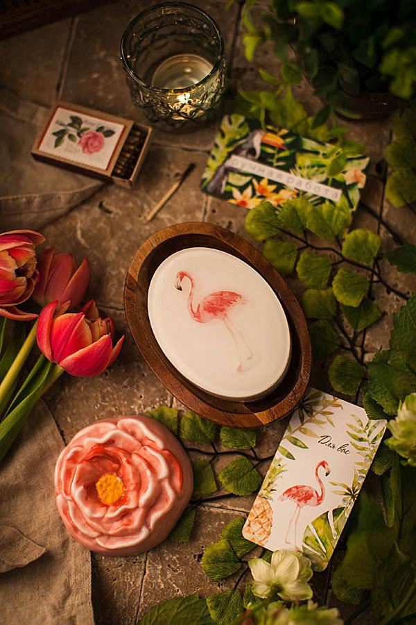 Форма для мыловарения цветы пиона