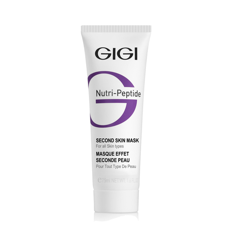 GiGi Nutri-Peptide Маска Second Skin Маска черная, 75 мл.