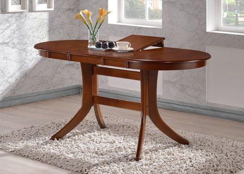 Стол обеденный 2063 раздвижной деревянный шоколад