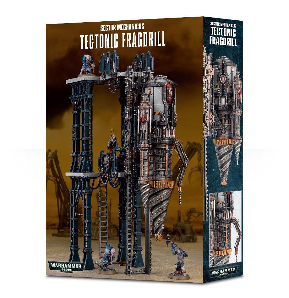 Sector Mechanicus Tectonic Fragdrill. Сектор Механикус: Тектоническая дрель.