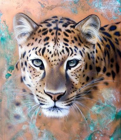 Алмазная Мозаика 20x30 Взгляд тигрицы