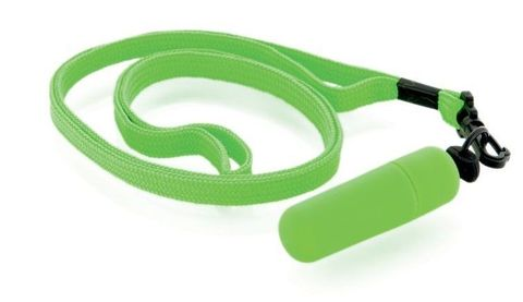 Набор из 10 зелёных вибропулек Funny Five на шнурке