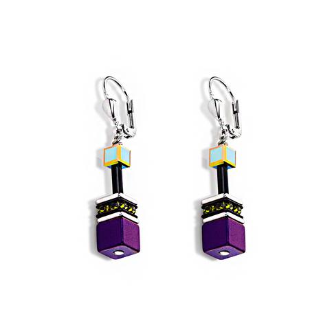 Серьги Coeur de Lion 4014/20-1500 цвет фиолетовый
